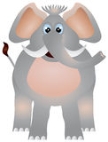 Illustration d'éléphant Image libre de droits