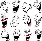 Illustration d'émotions de dessin animé Images stock