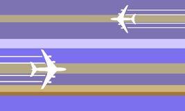 Illustration d'aéronefs de vol illustration de vecteur