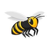 Illustration d'abeille de vol illustration de vecteur