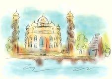 Illustration d'abrégé sur d'Ahmedabad Illustration de Vecteur