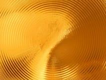illustration 3d d'abstraction de fond d'or illustration libre de droits