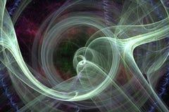 Illustration d'Abstrct Digital Technologies des graphiques de fractale illustration libre de droits