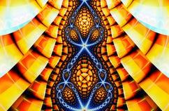 Illustration d'Abstrct Digital Technologies des graphiques de fractale illustration de vecteur