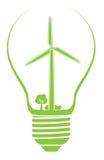Illustration d'actions d'énergie éolienne photo libre de droits