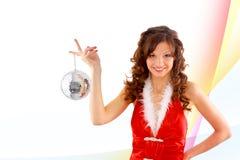 Illustration d'aide sexy de Santa Images stock