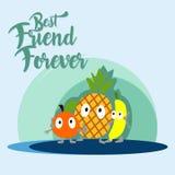 Illustration d'amitié Photos libres de droits