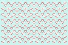 Illustration d'amour Photo stock
