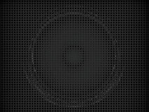 Amplifier background. Illustration of 3d amplifier background Royalty Free Stock Image