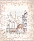 illustration d'Amsterdam illustration de vecteur