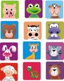 Illustration d'animaux de ferme Image libre de droits