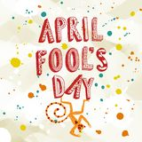 Illustration d'April Fools Day Photos libres de droits