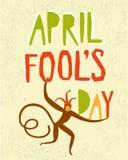 Illustration d'April Fools Day Image stock