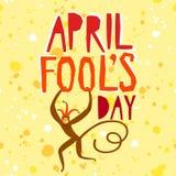 Illustration d'April Fools Day Photos stock