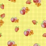 Illustration d'aquarelle d'un fruit Photos libres de droits