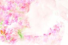 Illustration d'aquarelle de fleur illustration de vecteur
