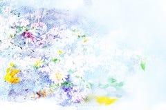 Illustration d'aquarelle de fleur illustration libre de droits