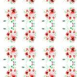 Illustration d'aquarelle d'une fleur Photo stock