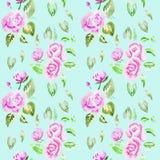Illustration d'aquarelle d'une fleur Image stock
