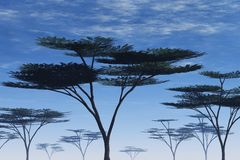 Illustration d'arbre illustration stock