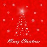 Illustration d'arbre de Noël Photos libres de droits