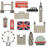 Illustration d'architecture de Londres Image libre de droits