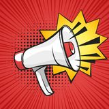 Illustration d'art de bruit de haut-parleur illustration libre de droits