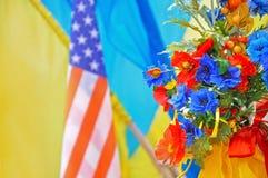 Illustration d'association de Nous-Ukrainien Photo libre de droits