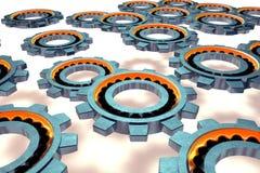 Illustration 3d auf weißem Hintergrund Lizenzfreies Stockbild