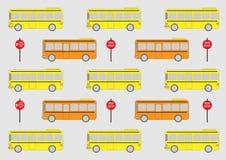 Illustration d'autobus scolaire Images stock