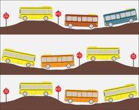 Illustration d'autobus scolaire Photographie stock libre de droits