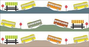 Illustration d'autobus scolaire Images libres de droits