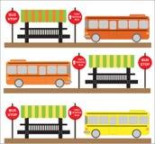 Illustration d'autobus scolaire Photographie stock