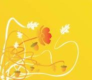 Illustration d'automne Photo libre de droits