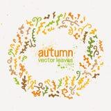 Illustration d'automne Photographie stock libre de droits