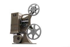 illustration 3D av den Retro filmprojektorn Arkivfoto