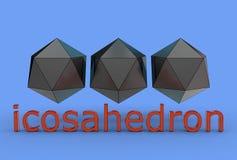 illustration 3d av dodecahedron royaltyfria foton