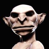 illustration 3D av en kuslig varelse Arkivfoton