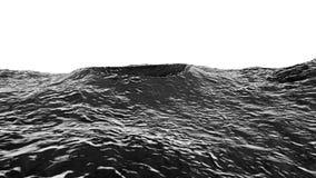 illustration 3D av måneyttersida Royaltyfri Bild