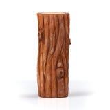 illustration 3D Bois de construction en bois sur un fond blanc Photo stock