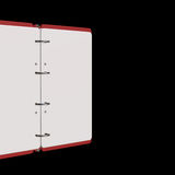 illustration 3d de bloc-notes vide Images stock