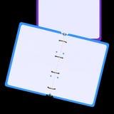 illustration 3d de bloc-notes vide Image libre de droits
