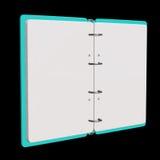 illustration 3d de bloc-notes vide Photo libre de droits