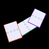 illustration 3d de bloc-notes vide Photo stock