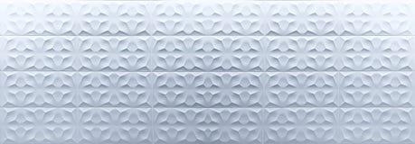 illustration 3D de fond blanc en céramique photo libre de droits