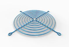 illustration 3D de gril de fan Image stock