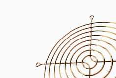 illustration 3D de gril de fan Photo libre de droits