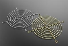 illustration 3D de gril de fan Image libre de droits