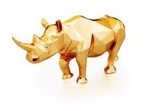 illustration 3D de rhinocéros Image libre de droits