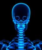 illustration 3D de système cadre bleu brillant Image stock